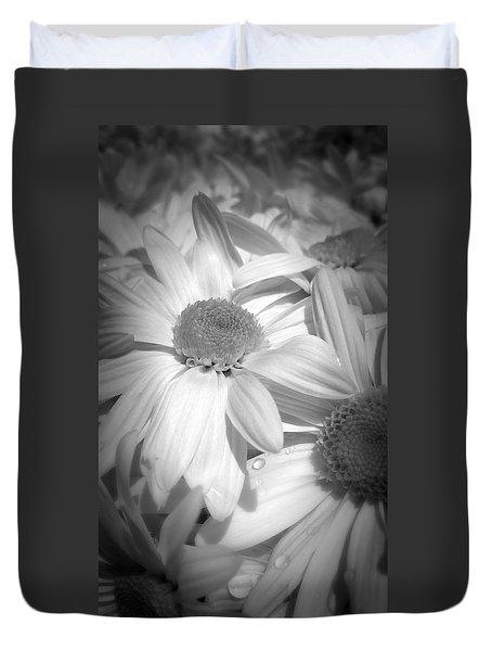 Flowers Duvet Cover by Amanda Eberly-Kudamik