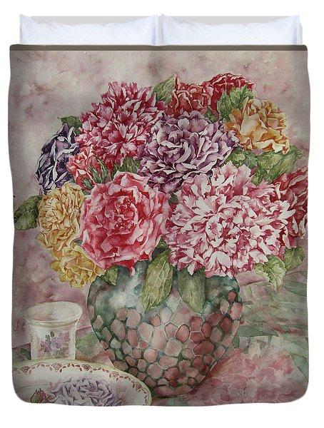 Flowers Arrangement  Duvet Cover