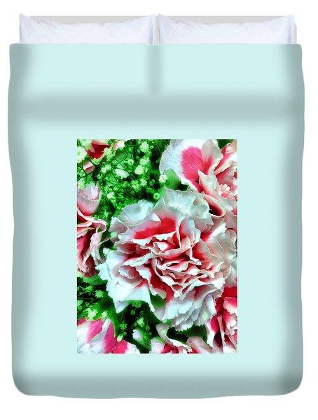 Flowers Duvet Cover by Carlos Avila