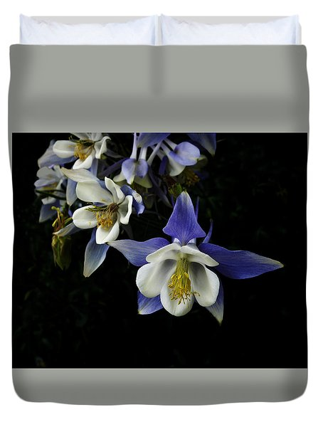 flowers- Columbine  - photography Duvet Cover
