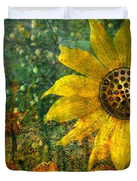 Flowers For Fun Duvet Cover by Tara Turner