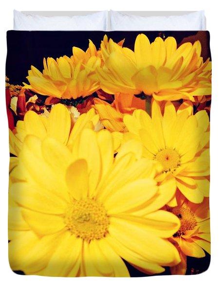 Flowers For My Baby Duvet Cover