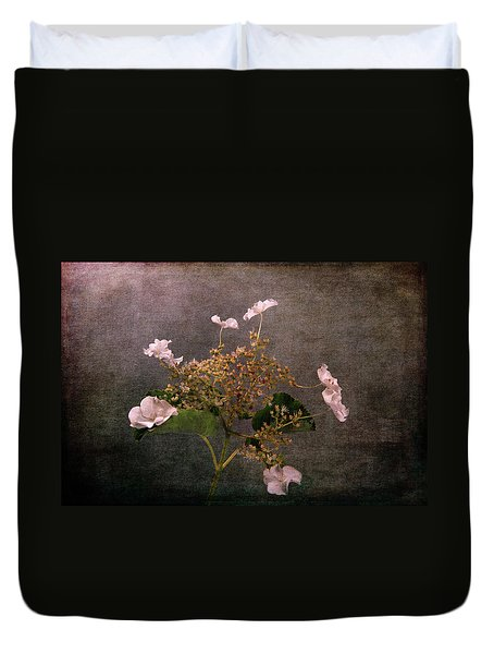 Duvet Cover featuring the photograph Flowers For The Mind by Randi Grace Nilsberg