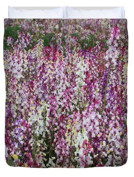 Flowers Forever Duvet Cover by Carol Groenen