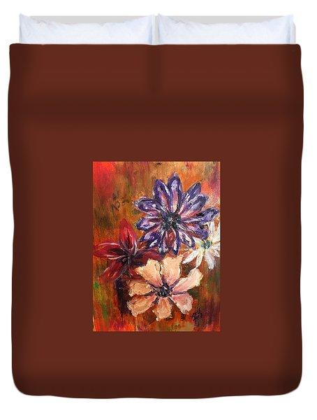 Flowers In The Spring Duvet Cover