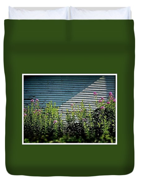 Flowers Line-up Duvet Cover