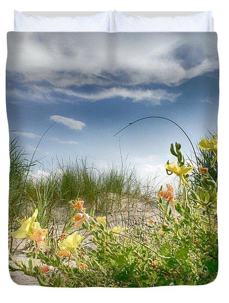 Flowery Dunes Duvet Cover