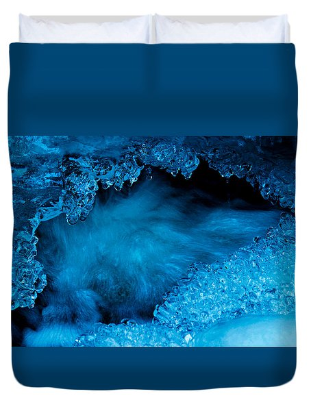 Flowing Diamonds Duvet Cover by Sean Sarsfield