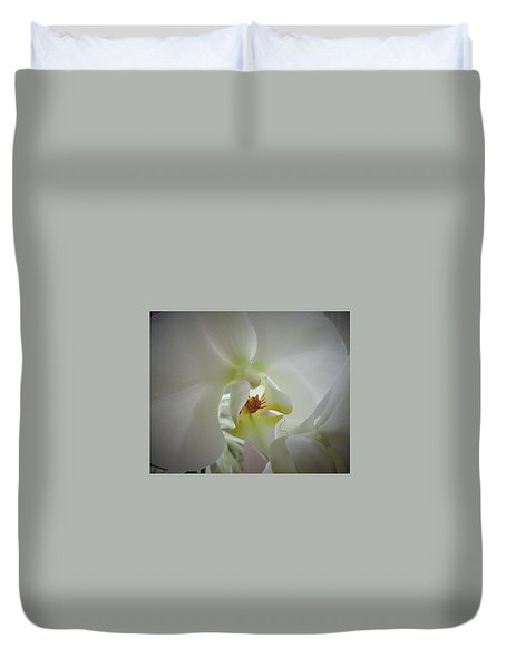 Flowing Flower Duvet Cover