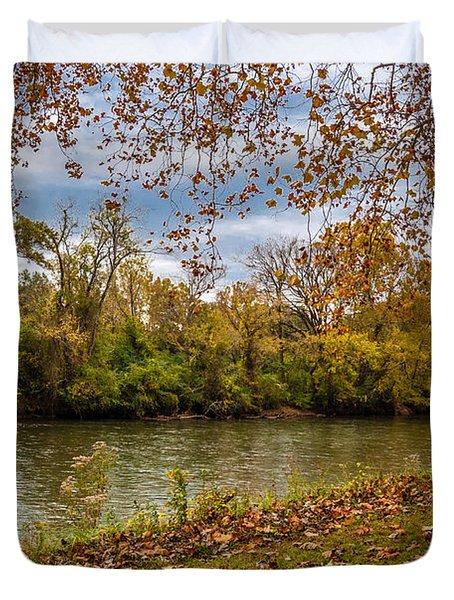 Flowing River Duvet Cover