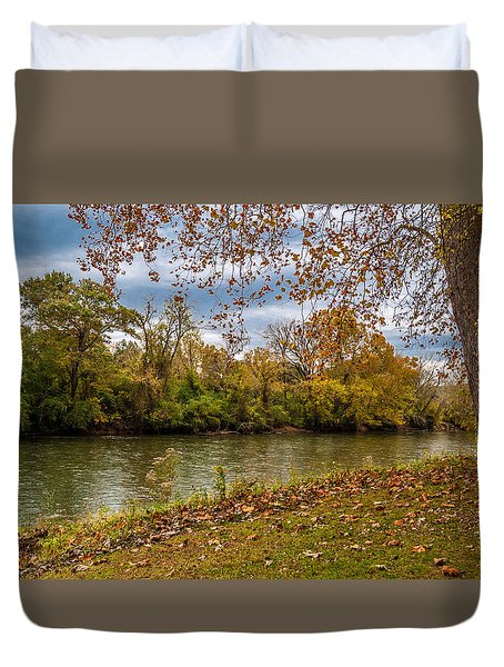 Flowing River Duvet Cover