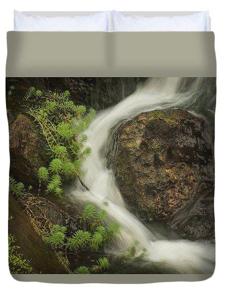 Flowing Stream Duvet Cover