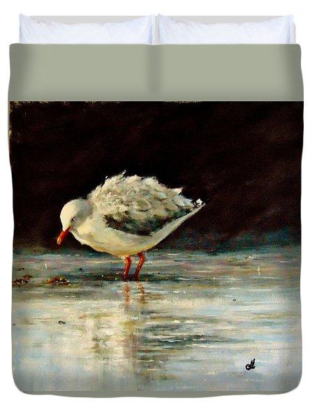 Fluffy Jonathan.. Duvet Cover by Cristina Mihailescu