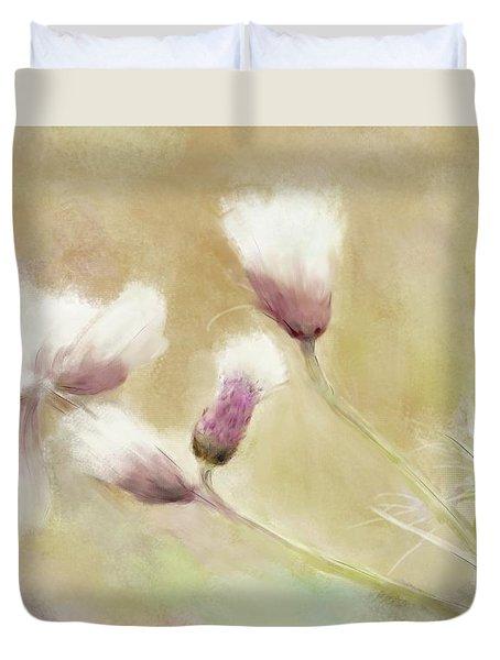 Fluffy Thistle Duvet Cover