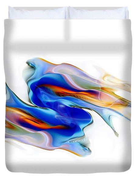 Fluid Colors Duvet Cover