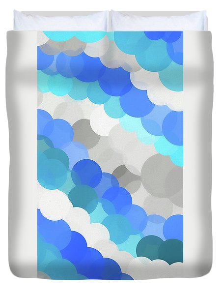 Fluid Duvet Cover by Dan Sproul