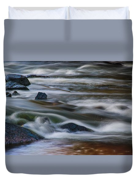 Fluid Motion Duvet Cover