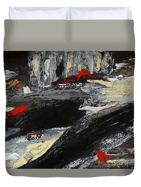 Flume 2 Duvet Cover by Dick Bourgault