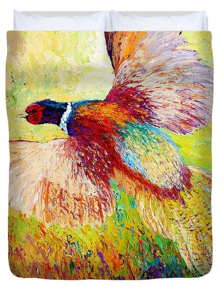 Flushed - Pheasant Duvet Cover