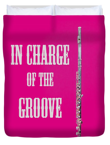 Flute In Charge Of The Groove 5527.02 Duvet Cover