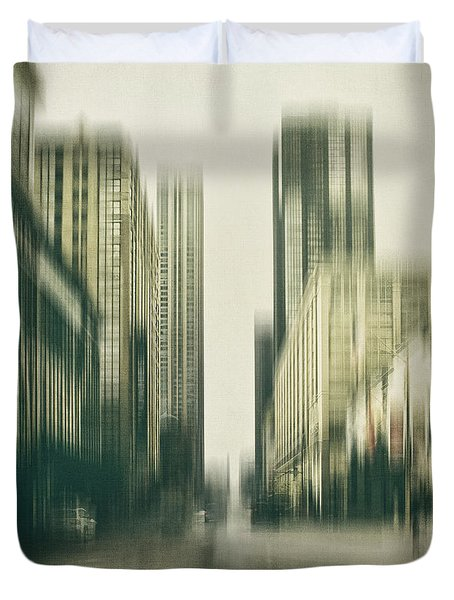 Flux Duvet Cover by Andrew Paranavitana
