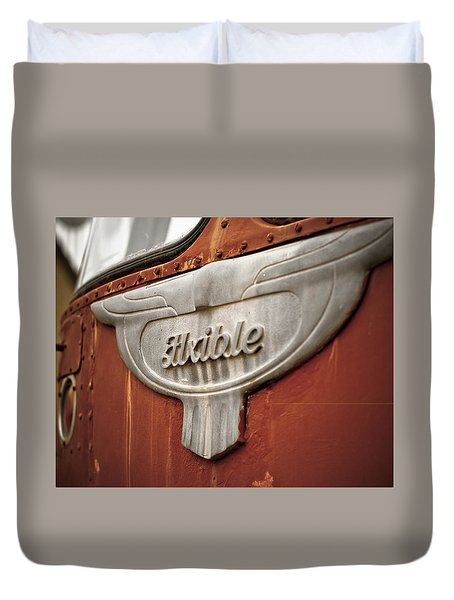 Flxible Clipper 1948 Duvet Cover