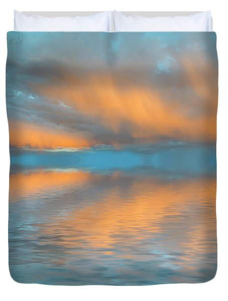 Fly Away With Me Duvet Cover by Jerry McElroy