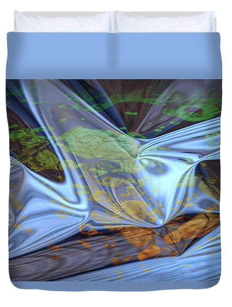 Fly By Night Duvet Cover