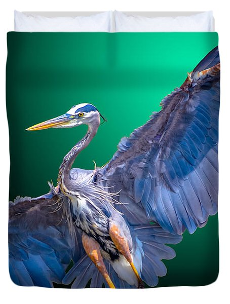 Fly-by-night Duvet Cover