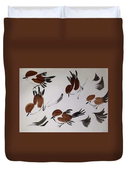 Fly Fly Away Duvet Cover