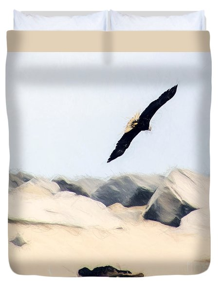 Fly Free Duvet Cover by Billie-Jo Miller
