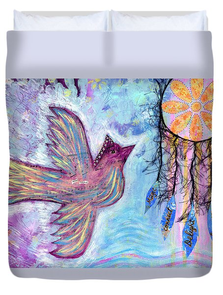 Fly Into Your Sweet Dreams Duvet Cover
