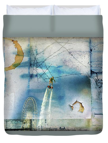 Flyboard - Freestyle Duvet Cover