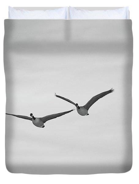 Flying Companions Duvet Cover
