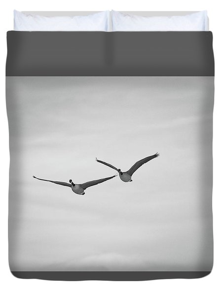 Flying Companions Duvet Cover