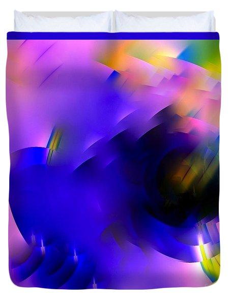 Flying Fractal 14 Duvet Cover