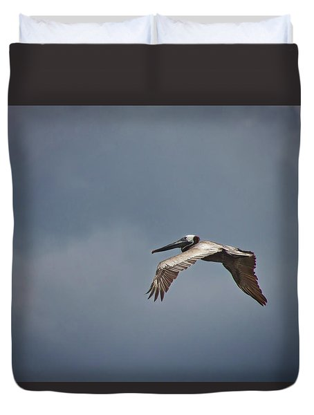 Flying High Duvet Cover by Phil Mancuso