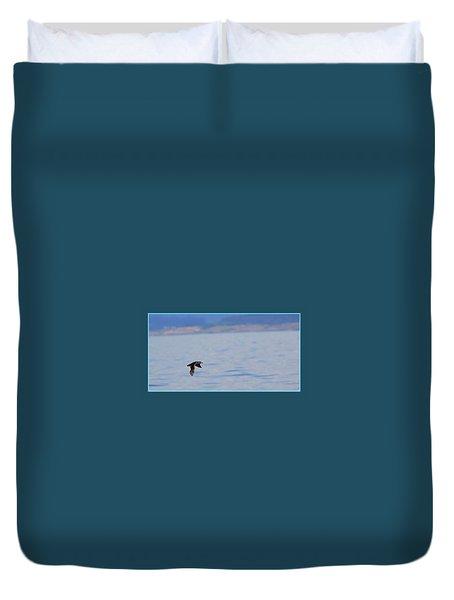 Flying Rhino Duvet Cover