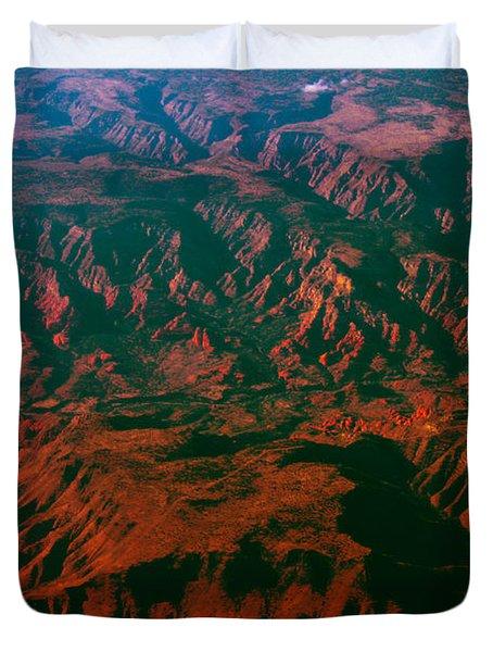 Flying West Duvet Cover