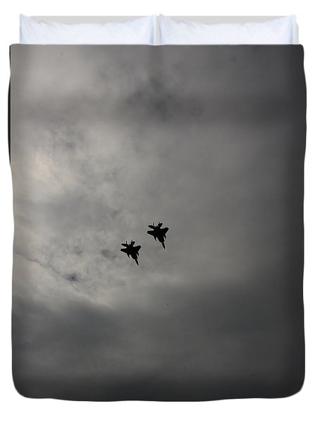 Flyover Duvet Cover by Jesse Ciazza