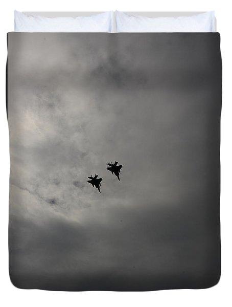 Flyover Duvet Cover