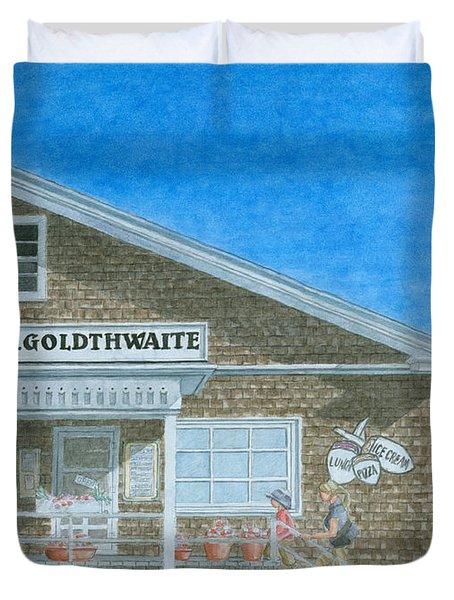 F.o. Goldthwaite Duvet Cover by Dominic White