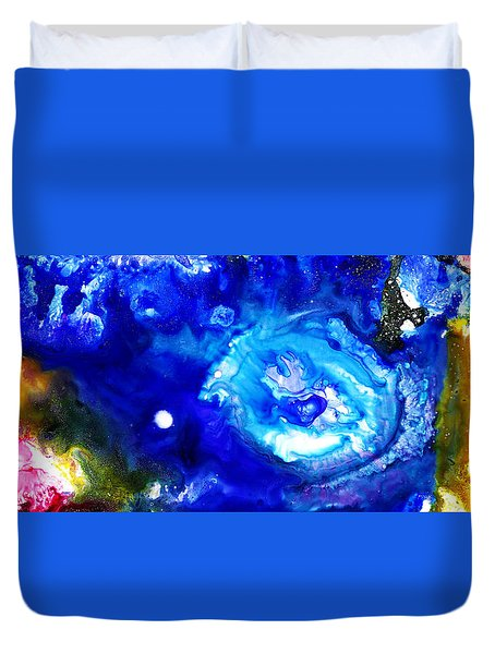 Focal Epilepsy Duvet Cover by Sir Josef - Social Critic -  Maha Art