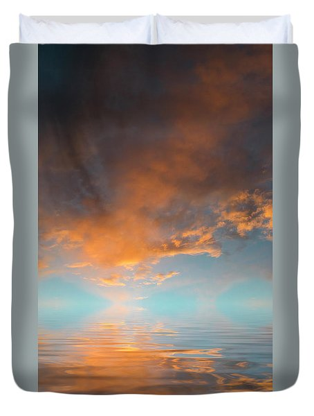 Focal Point Duvet Cover by Jerry McElroy
