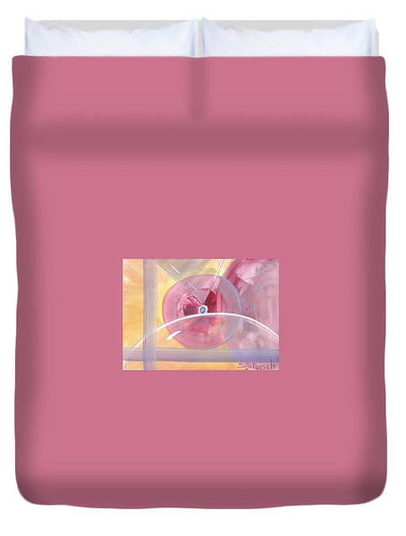 Focal Point Duvet Cover