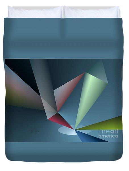 Focus Duvet Cover by Leo Symon