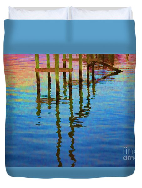 Focus On The Water Duvet Cover