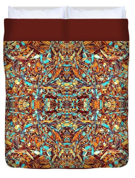 Focused Presence Duvet Cover