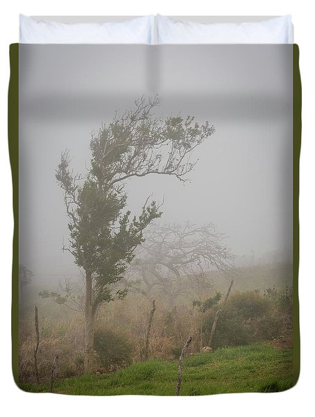 Fog And Wind Duvet Cover