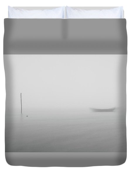 Duvet Cover featuring the photograph Fog Day 2 by Bruno Rosa
